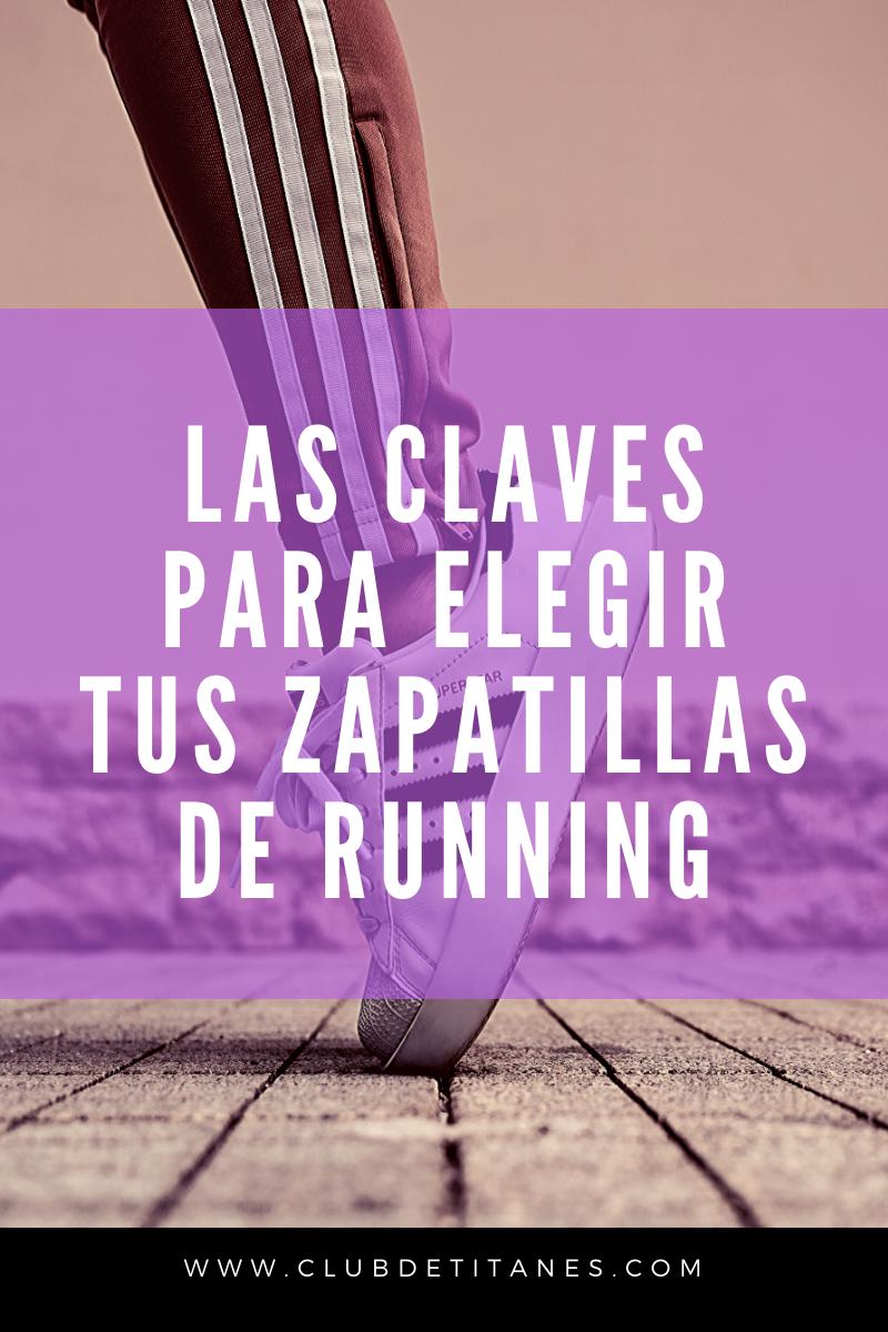 Claves para elegir tus zapatillas de running
